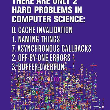 Only 2 Hard Problems in Computer Science: version 2.0.0-rc-937.04-hot-patch by suranyami