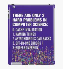 Only 2 Hard Problems in Computer Science: version 2.0.0-rc-937.04-hot-patch iPad Case/Skin