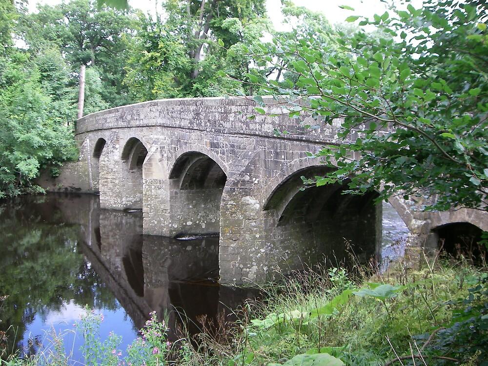 Kilgram Bridge, Yorkshire Dales by Jervaulx