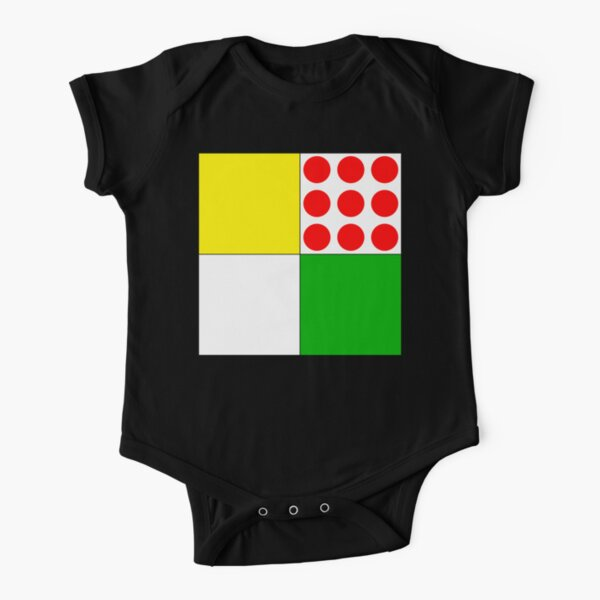 Tour de France Jerseys Short Sleeve Baby One-Piece