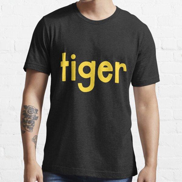 Tiger Black Essential T-Shirt