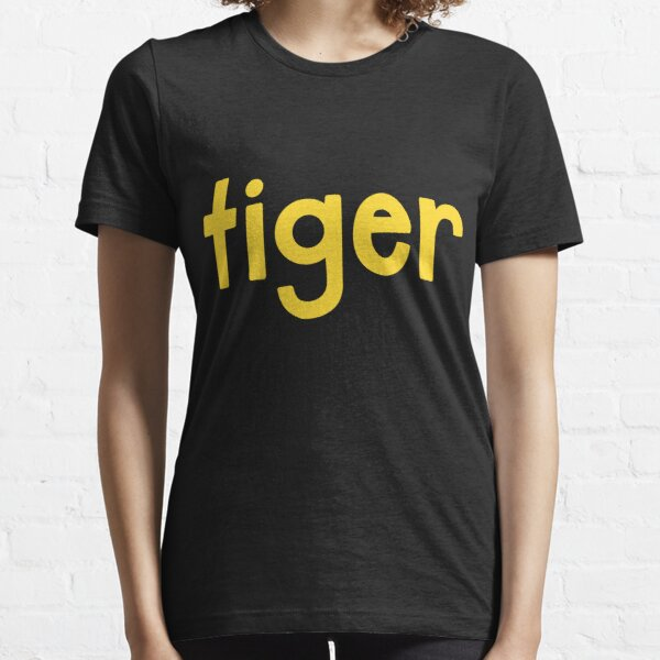 Tiger Black Essential T-Shirt