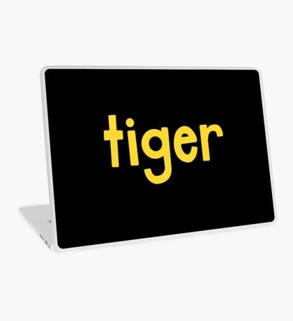 Tiger Black Laptop Skin