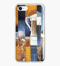 Beer Glass and Cards Juan Gris iPhone Case/Skin