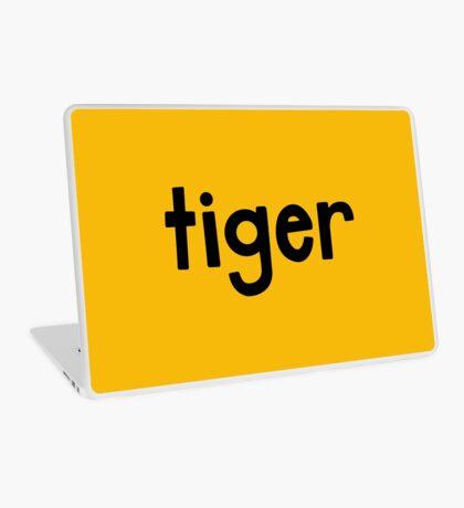 Tiger Yellow Laptop Skin