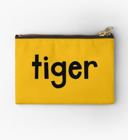 Tiger Yellow Studio Pouch