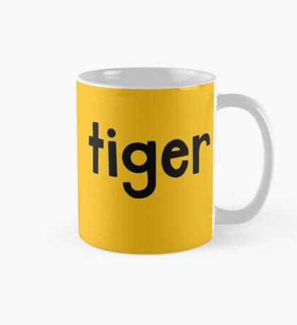 Tiger Yellow Mug