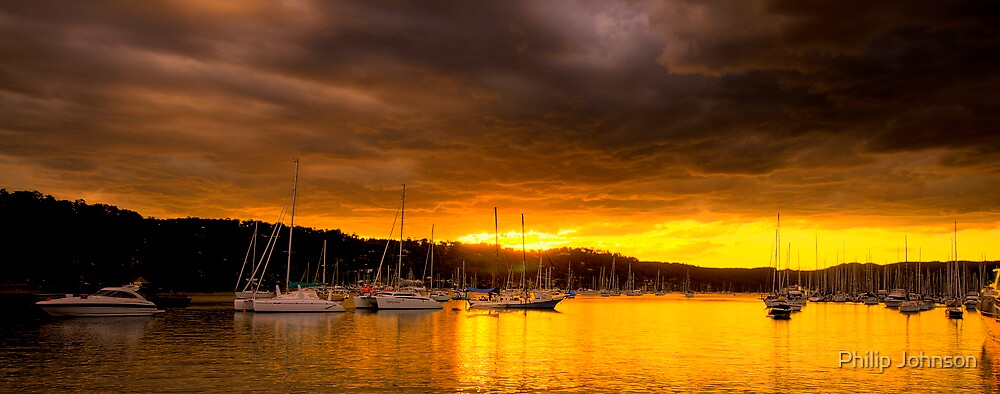 Gold - Newport - Sydney Beaches - The HDR Series by Philip Johnson