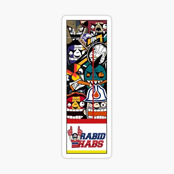 Pacific Division Rabid Team Logo Sticker