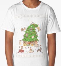 Meowi Christmas Long T-Shirt