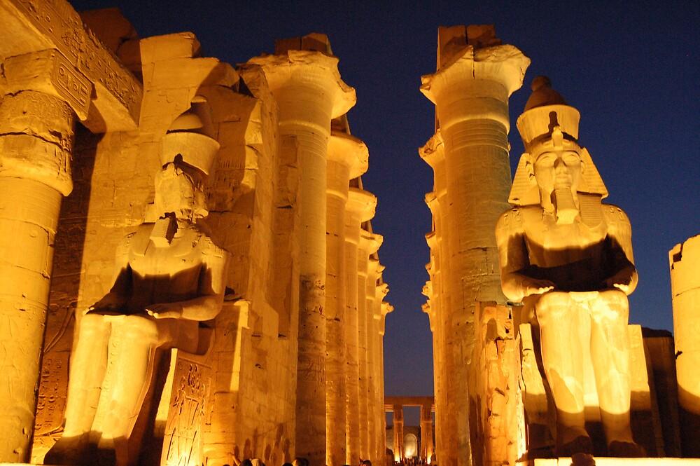 Luxor Temple by WhartonWizard