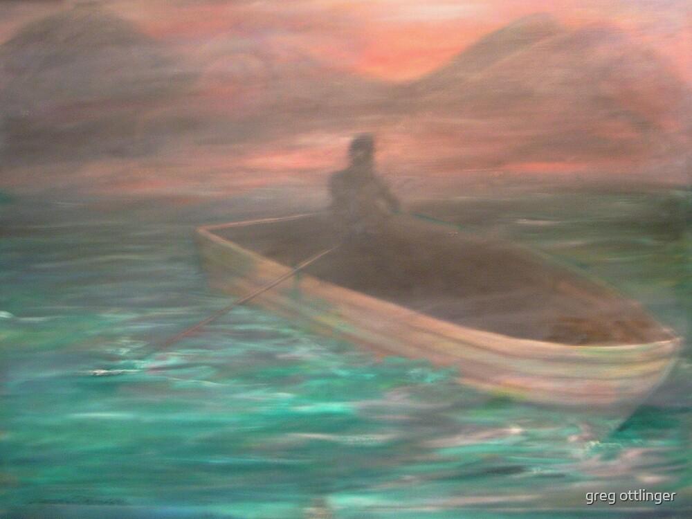 man in the boat by greg ottlinger