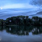 Evening on the Seine by Marylou Badeaux