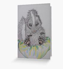 skunk weed bowl Greeting Card