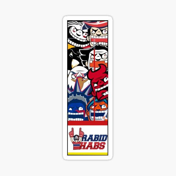 Metropolitan Rabid Team Logo Sticker
