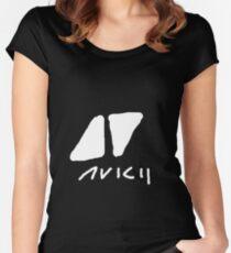 Avicii Women's Fitted Scoop T-Shirt