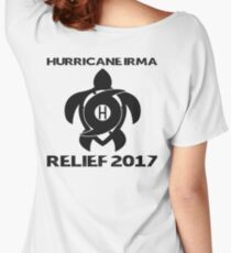 Hurricane Irma Relief Donations Women's Relaxed Fit T-Shirt