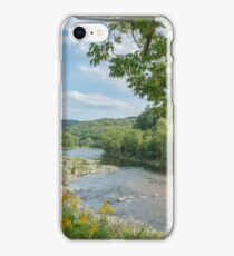 Deerfield River, Charlemont MA iPhone Case/Skin