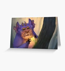 The Butterfrillow Beast Greeting Card