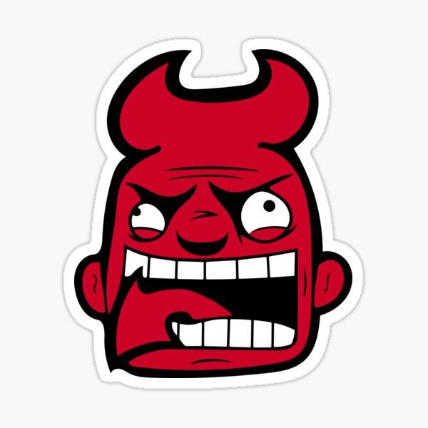 New Jersey Rabid Team Logo Sticker