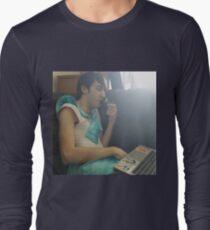 SAILOR KYLE SMOKES GANJA Long Sleeve T-Shirt