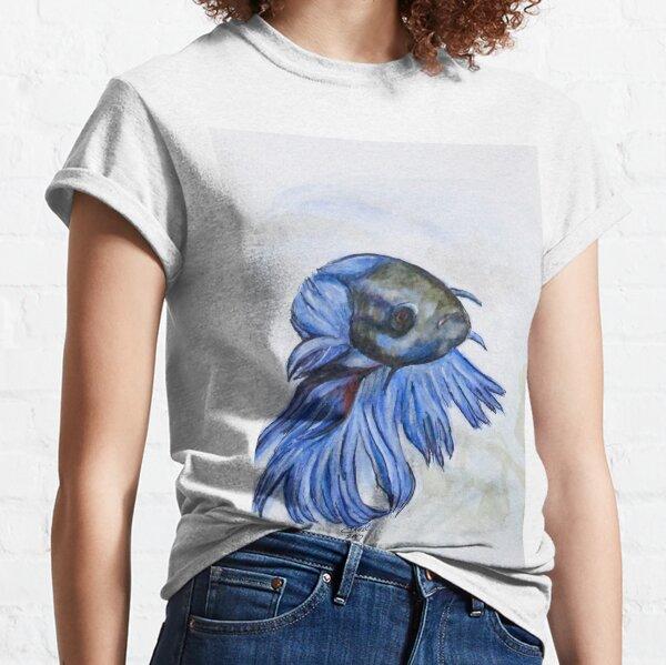 Ben Blue Betta Fish Classic T-Shirt