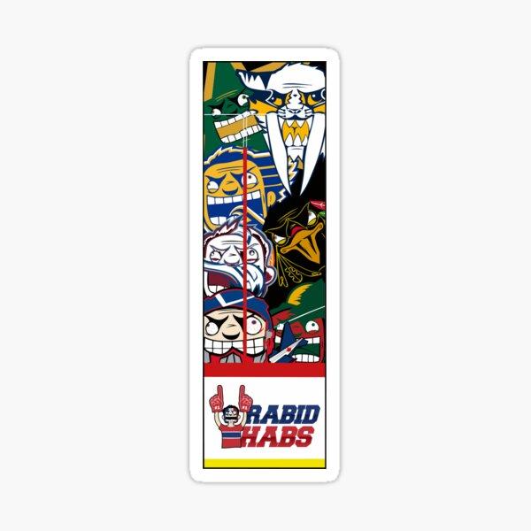 Central Division Rabid Team Logo Sticker