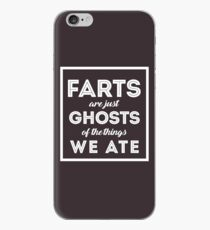 Farts Are Ghosts Of The Things We Ate iPhone Case