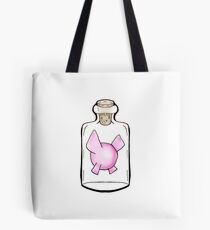 Fairy in a bottle Tote Bag