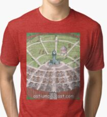 Go Suck a Clock Tower Tri-blend T-Shirt