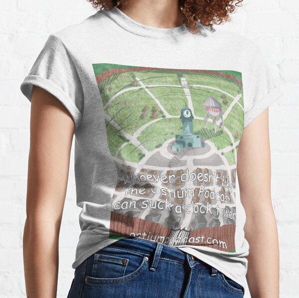 Go Suck a Clock Tower Classic T-Shirt