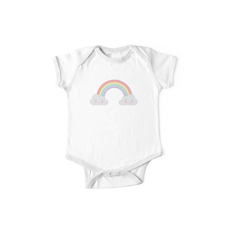 Pastel Cloud Face - Babies & Kids by LetsCallItLove1