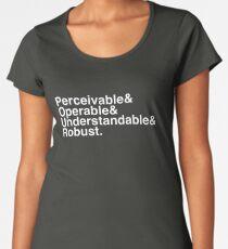 P&O&U&R. Women's Premium T-Shirt