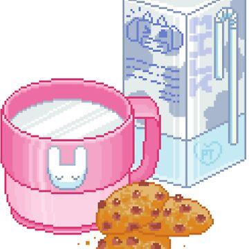 """Milk & Cookies"" Adorable Aesthetic by Septoxin"