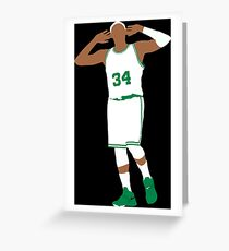Paul Pierce Embrace The Crowd Greeting Card