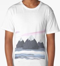 Mirrored Sea Long T-Shirt