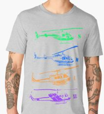 Bell Helicopter - Little to Really Big! Men's Premium T-Shirt