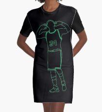 Paul Pierce Embrace The Crowd Neon Graphic T-Shirt Dress