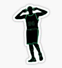 Paul Pierce Embrace The Crowd Neon Sticker