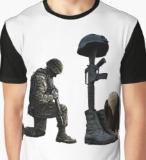 Soldier's Cross Graphic T-Shirt