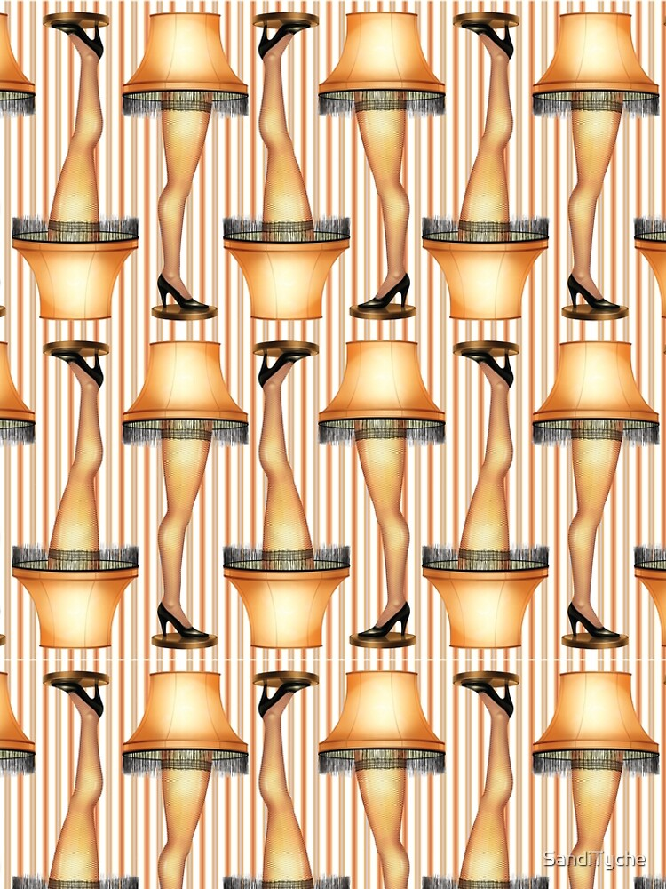 FRAGILE Leg Lamp from A Christmas Story by SandiTyche