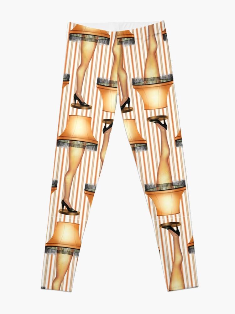 Alternate view of FRAGILE Leg Lamp from A Christmas Story Leggings