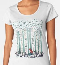 The Birches Women's Premium T-Shirt