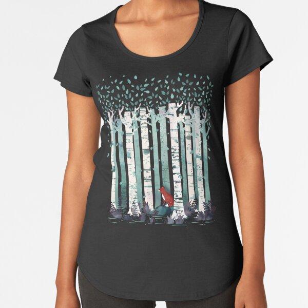 The Birches Premium Scoop T-Shirt