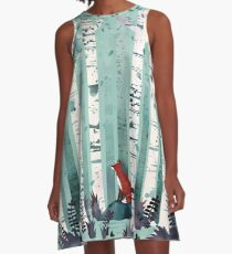 The Birches A-Line Dress