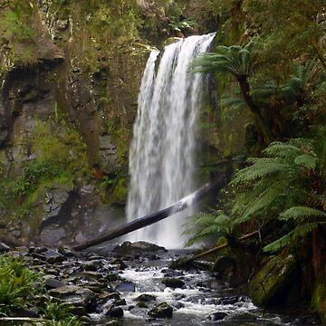 Hopetoun Falls Landscape by guitarchick666