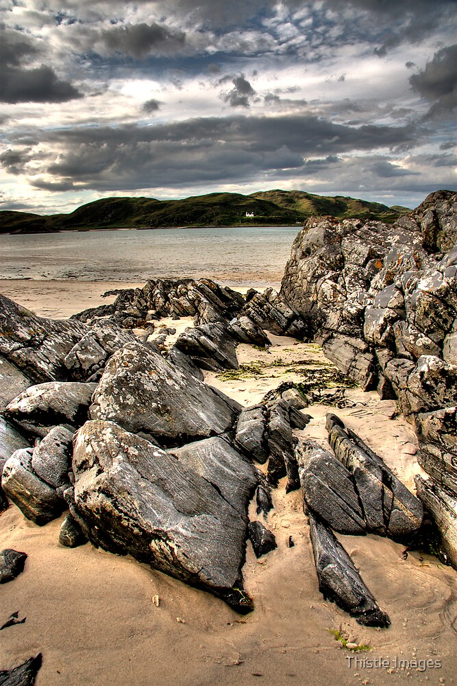 Morar Rocks by Thistle Images