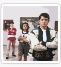 Ferris Bueller's Day Off- Art Gallery Sticker