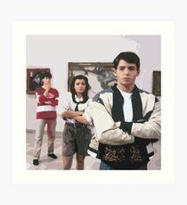 Ferris Buellers Day Off-Art Gallery Kunstdruck