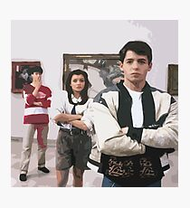 Ferris Bueller's Day Off- Art Gallery Photographic Print
